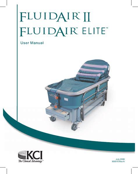 Fluidair 185 Manual