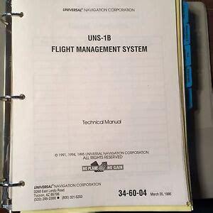 Fms Technical Manual Universal