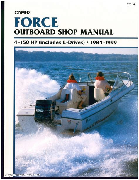 Force 50 Hp Outboard 1984 1999 Workshop Service Manual