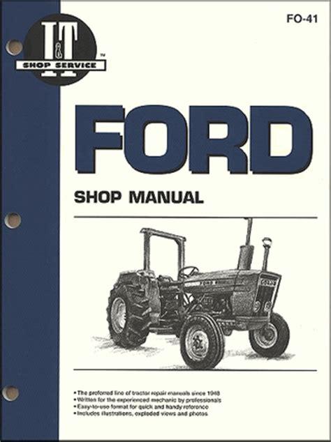 Ford 2310 2600 2610 Tractor Workshop Service Repair Manual