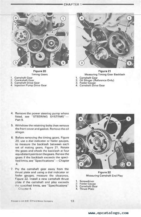 Ford 5610 Tractor Workshop Repair Service Manual