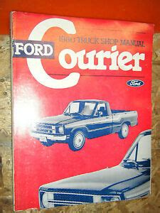 Ford Courier How To Fix Manual