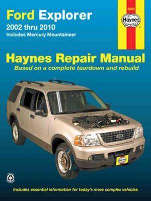 Ford Explorer Repair Manual