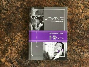 Ford F150 Sync Supplement Manual