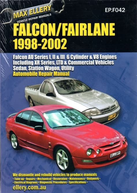 Ford Falcon Au Series 2 Workshop Manual