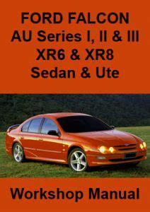 Ford Falcon Au Workshop Manual