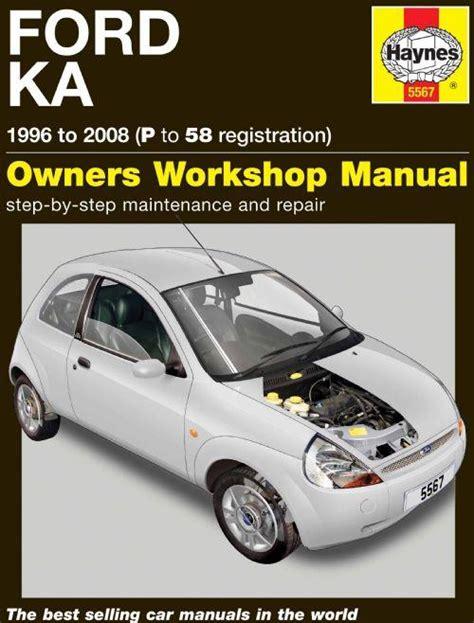 Ford Ka 1 Owner Manual