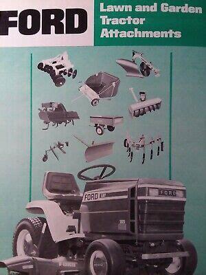Ford Lgt 120 Mower Manual