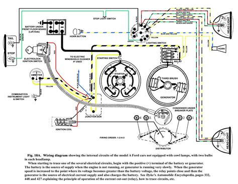 Ford Model A Wiring Light