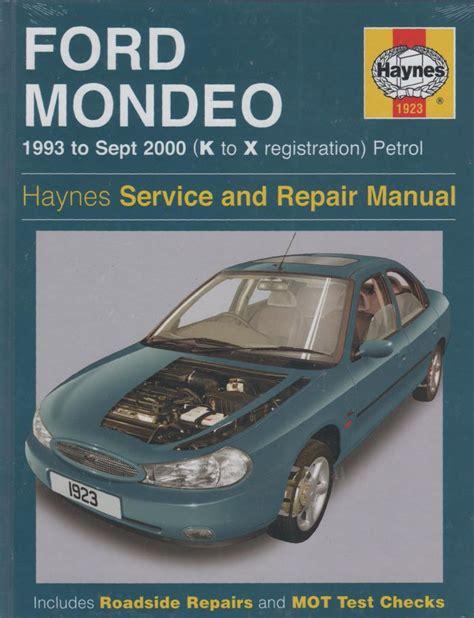 Ford Mondeo Workshop Service Repair Manual