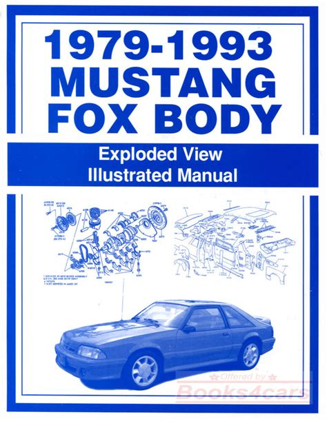 Ford Mustang Body Part Manual