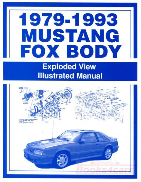 Ford Mustang Repair Manual Glass