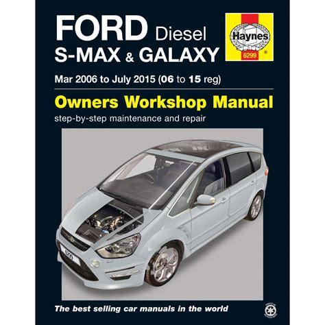 Ford S Max Repair Manual