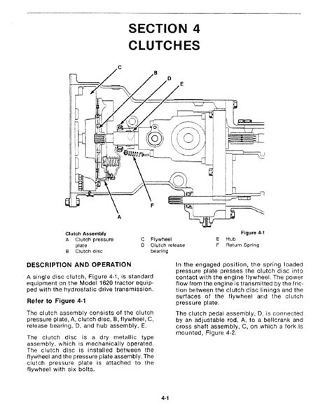Ford Tractor 1620 Manual