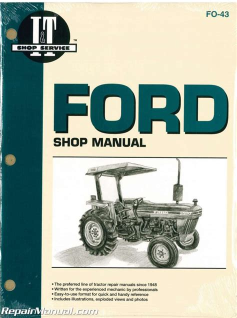 Ford Tractor 2810 2910 3910 Complete Workshop Service Repair Manual