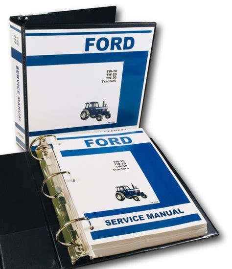 Ford Tw10 Tw20 Tw30 Service Repair Manual