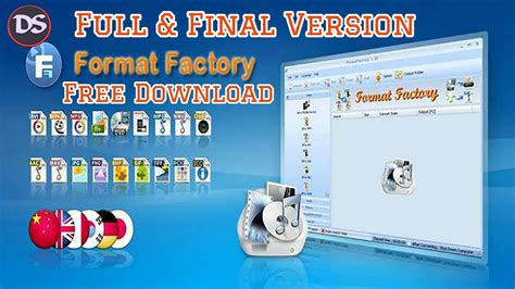 Format Factory Full Version Free Download With Key