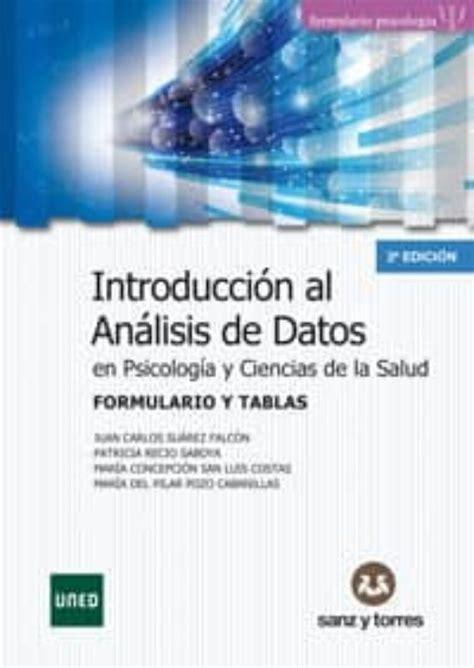 Formulario Y Tablas De Introduccion Al Analisis De Datos En Psicologia Y Ciencias De La Salud
