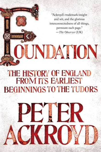 Foundation The History Of England