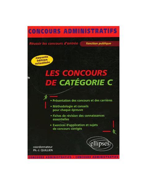 Francais Concours De Categorie C