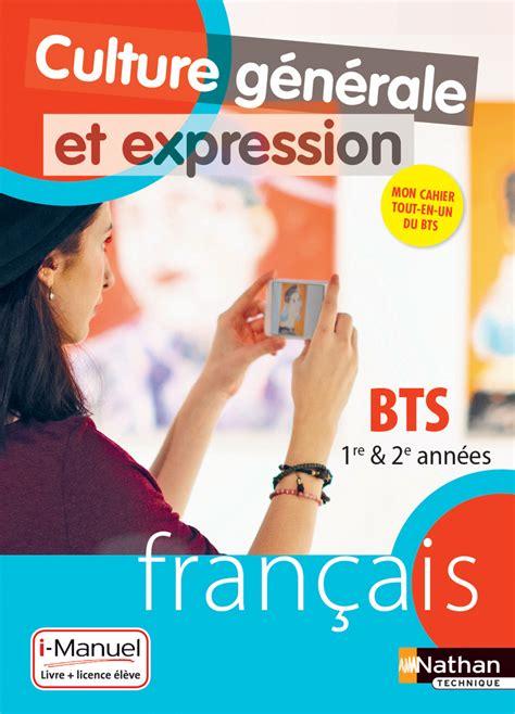 Francais Culture Generale Et Expression Bts