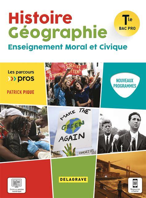 Francais Histoire Geographie Emc Tle Bac Pro