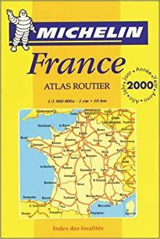 France Mini Atlas Mini Atlas Spiral Michelin Road Atlases