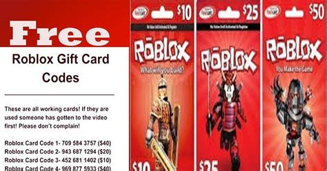 The 5 Things About Free Gift Card Code Roblox 2021