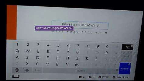 Free Nintendo Eshop Codes