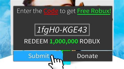 1 Secret Of Free Robux Hack Code