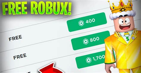 5 Simple Technique Free Robux In Roblox 2021