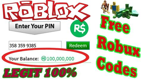 The Ultimate Guide To Free Robux Pin Codes