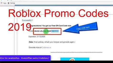 4 Ways Free Robux Promo Codes Not Expired