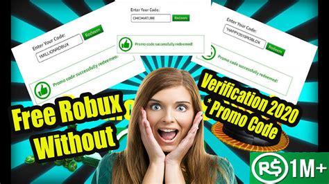 2 Simple Technique Free Robux Websites Without Verification