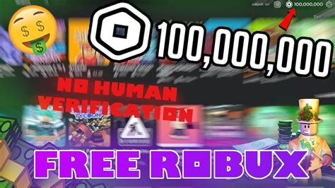 4 Myth About Free Robux Without Any Human Verification