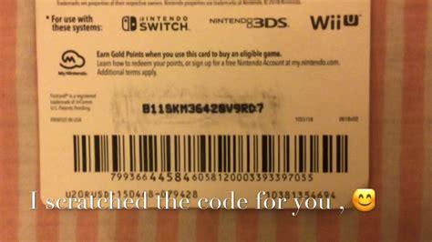 Free Unused Nintendo Eshop Codes