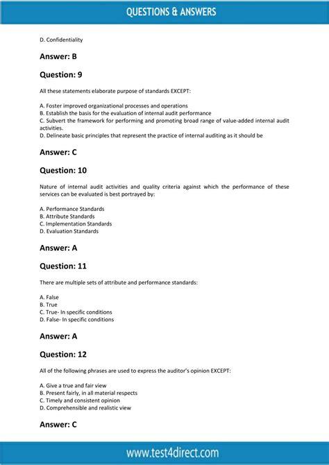 Free IIA-CFSA-BANK Test Questions