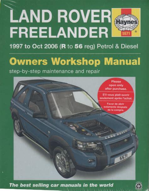 Freelander V6 Petrol Workshop Manual