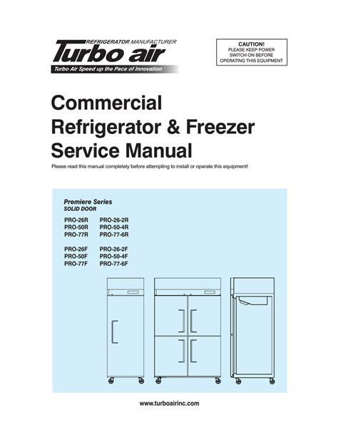 Freezer Service Manual