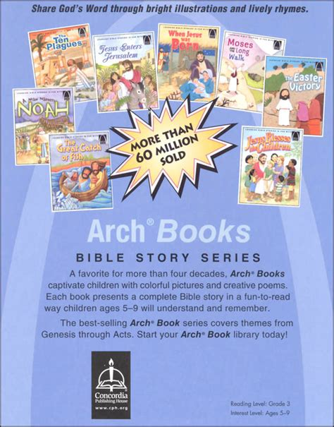 From Adam To Easter Arch Books English Edition