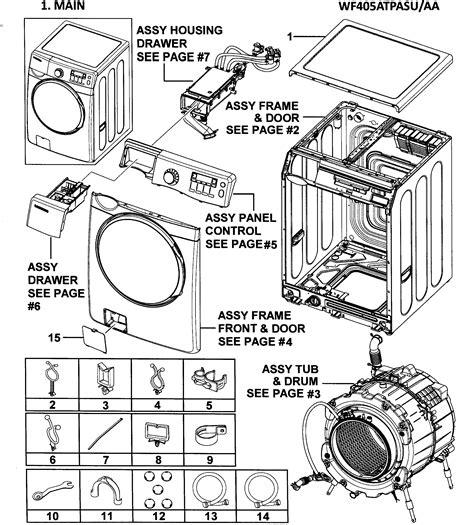 Front Loader Washing Machine Manuals