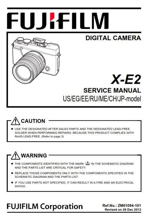 Fujifilm Instruction Manual