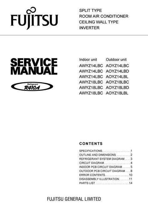 Fujitsu Lifah552 Service Manual