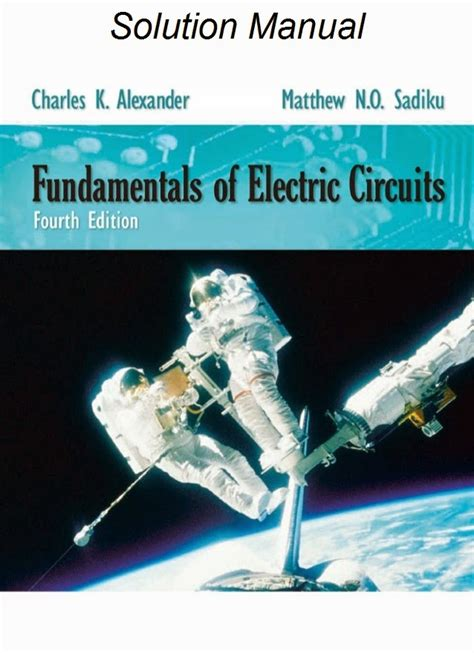 Fundamental Of Electric Circuits Solution Manual 4th Edition