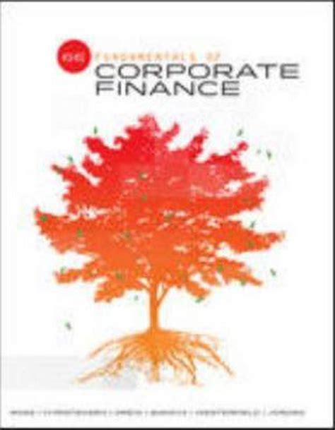 Fundamentals Of Corporate Finance 6th Edition