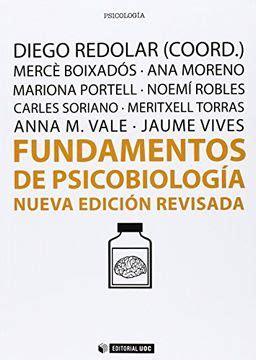 Fundamentos De Psicobiologia Nueva Edicion Revisada Manuales