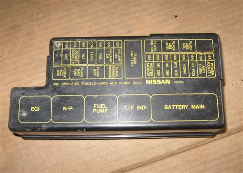 Fuse Box Diagram For 98 Nissan Frontier
