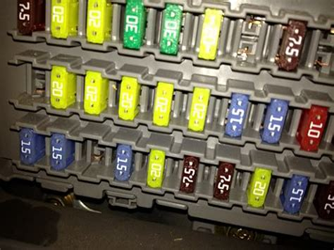 Fuse Box For Acura Tl