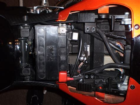 Fuse Box Location Suzuki Gsxr Motorcycle