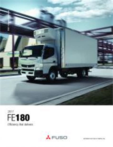 Fuso Fe180 Owners Manual